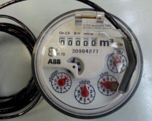 Kontaktwasserzähler (Messeinsatz MON-Zähler, K=100 Liter)
